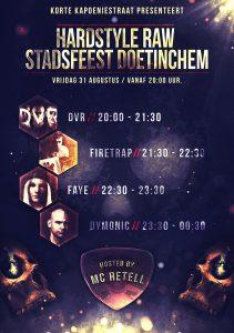 Stadsfeest Doetinchem Hardstyle Raw Evenement